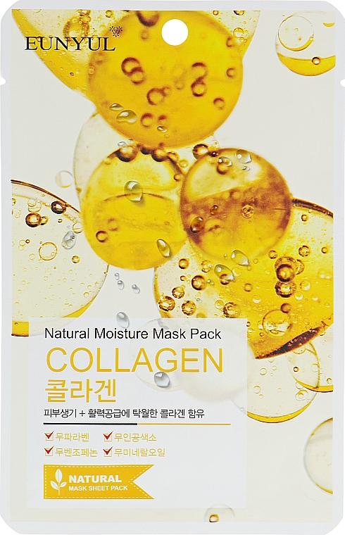 Maschera in tessuto idratante al collagene - Eunyul Natural Moisture Mask Pack Collagen
