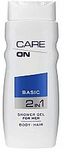 Profumi e cosmetici Gel doccia 2in1 - Care On Basic Gel Shower