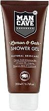 Profumi e cosmetici Gel doccia - Man Cave Lemon & Oak Shower Gel