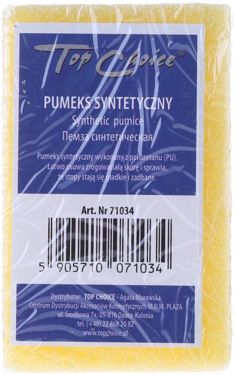 Pomice sintetica doppio, giallo, 71034 - Top Choice — foto N1