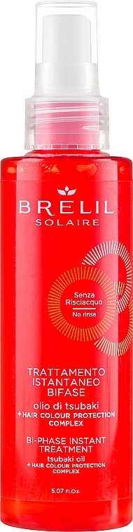 Balsamo bifase recupero istantaneo - Brelil Solaire Bi-Phase Instant Treatment — foto N1