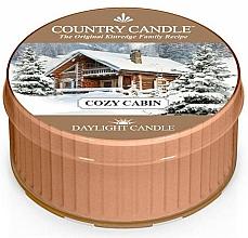 """Profumi e cosmetici Candela """"Casa accogliente"""" - Country Candle Cozy Cabin Daylight"""