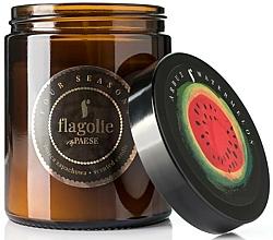 "Profumi e cosmetici Candela profumata in barattolo ""Watermelon"" - Flagolie Fragranced Candle Watermelon"