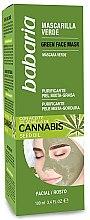 Profumi e cosmetici Maschera detergente - Babaria Cannabis