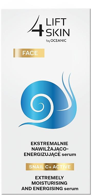 Siero intensamente idratante e levigante - Lift4Skin Snail C+ Serum