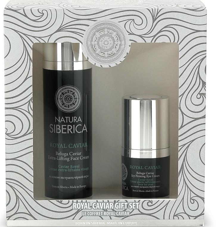 Set - Natura Siberica Caviar Gift Set (f/cr/50ml + eye/cr/15ml)