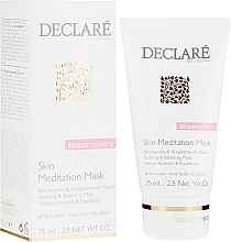 Profumi e cosmetici Maschera lenitiva per il viso - Declare Stress Balance Skin Meditation Mask