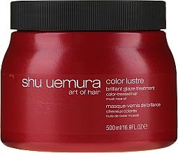 Profumi e cosmetici Maschera per capelli colorati - Shu Uemura Art Of Hair Color Lustre Treatment