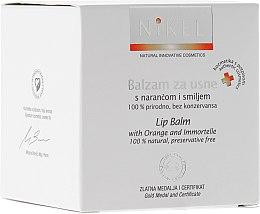 Profumi e cosmetici Balsamo labbra con fiori d'arancio e immortelle - Nikel Lip Balm