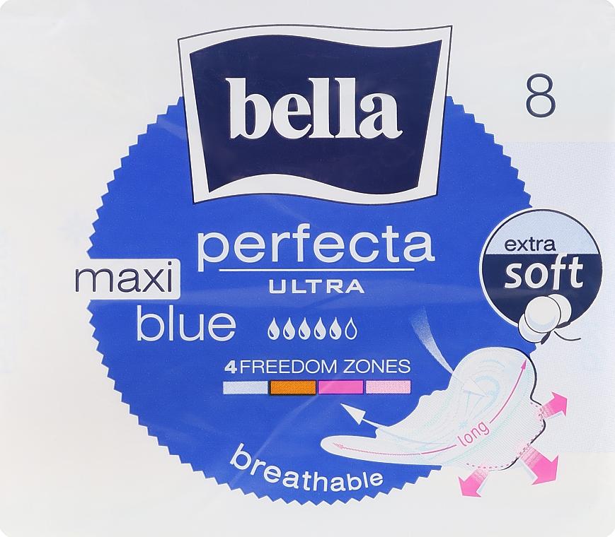 Assorbenti Perfecta Blue Maxi Soft Ultra, 8 pz - Bella — foto N1