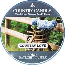 Profumi e cosmetici Candela da tè - Country Candle Country Love