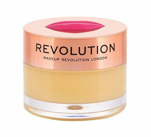 "Balsamo-maschera labbra ""Succo di ananas"" - Makeup Revolution Kiss Lip Balm Pineapple Crush — foto N1"