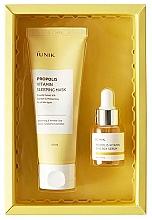 Profumi e cosmetici Set - iUNIK Propolis Edition Skin Care Set (mask/60ml + ser/15ml)
