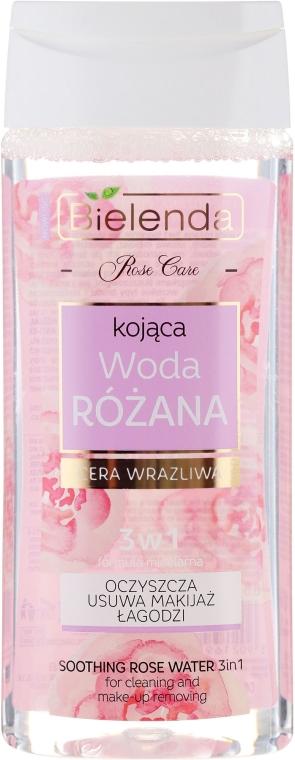 Acqua di rose lenitiva 3in1 per pelli sensibili - Bielenda Rose Care Soothing Rose Water