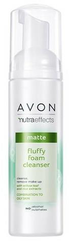 Schiuma detergente rinfrescante - Avon Nutra Effects Matte Fluffy Foam Cleanser