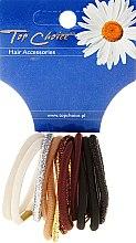 Profumi e cosmetici Elastici per capelli, 12 pz, colori misti - Top Choice