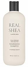 Profumi e cosmetici Shampoo nutriente per capelli al burro di karitè - Rated Green Real Shea Cold Pressed Shea Butter Nourishing Shampoo