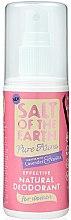 Profumi e cosmetici Deodorante-spray naturale - Salt of the Earth Pure Aura Natural Deodorant Spray