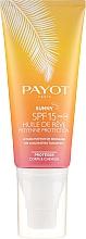 Profumi e cosmetici Crema solare secca per corpo e capelli - Payot Sunny The Sublimating Tan Effect Body and Hair SPF15