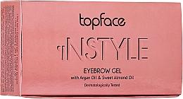 Profumi e cosmetici Gel per sopracciglia - Topface Instyle Gel
