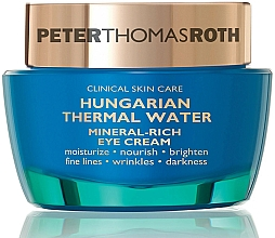 Profumi e cosmetici Crema contorno occhi - Peter Thomas Roth Hungarian Thermal Water Mineral-Rich Eye Cream