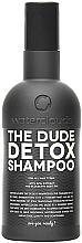 "Profumi e cosmetici Shampoo ""Detox"" - Waterclouds The Dude Detox Shampoo"