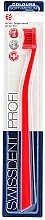 Profumi e cosmetici Spazzolino denti, medio morbido, rosso - SWISSDENT Profi Colours Soft-Medium Toothbrush Red&Red