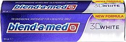 "Profumi e cosmetici Dentifricio ""Sbiancamento tridimensionale"" - Blend-a-med 3D White Toothpaste"