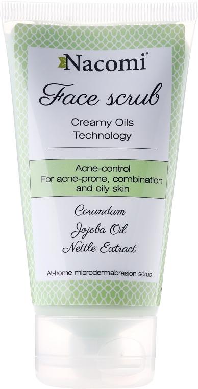 Scrub anti-acne per la pelle mista, grassa e con acne - Nacomi Face Peeling