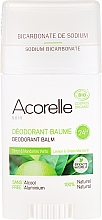 "Profumi e cosmetici Deodorante-balsamo ""Lemon & Green Mandarin"" - Acorelle Deodorant Balm"