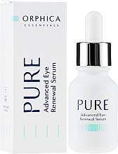 Profumi e cosmetici Siero per gli occhi - Orphica Pure Advanced Eye Renewal Serum
