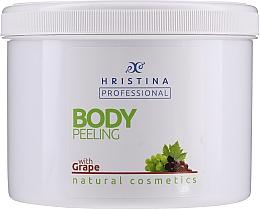 "Profumi e cosmetici Peeling corpo ""Uva"" - Hristina Professional 100% Natural Grape Body Peeling"