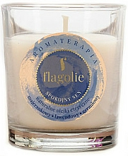 "Profumi e cosmetici Candela profumata ""Peaceful sleep"" - Flagolie Fragranced Candle Rest Sleep"