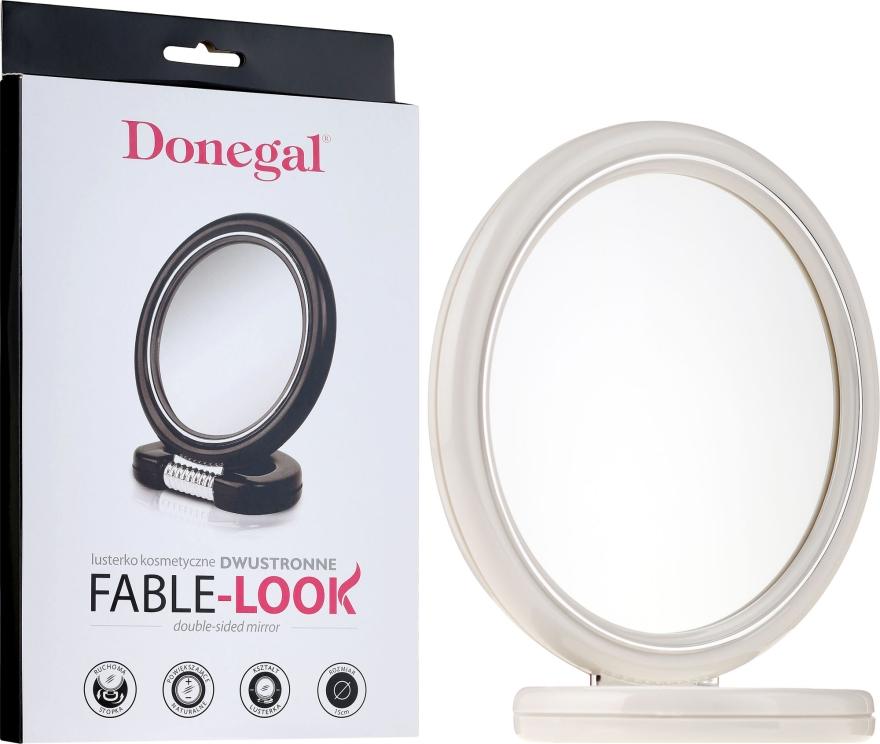 Specchio rotondo, 15 cm, 9502, bianco - Donegal Mirror — foto N2