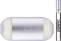 Carolina Herrera 212 For Women - Set (edt/100ml + edt/mini/10ml) — foto N3