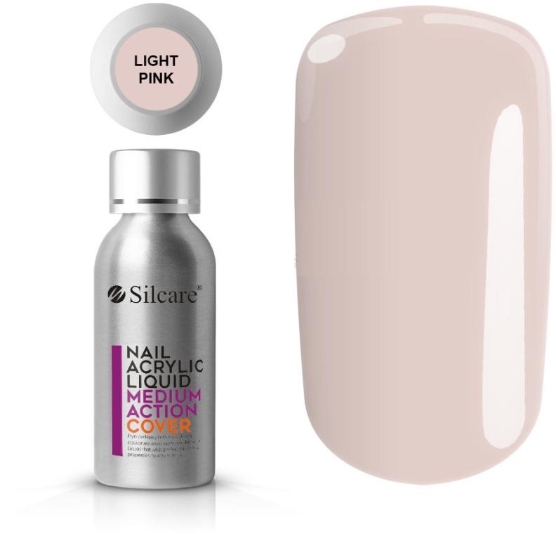 Acrilico per unghie - Silcare Nail Acrylic Liquid Medium Action Cover