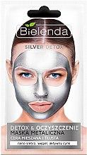 Profumi e cosmetici Maschera-detox per pelli grasse e miste - Bielenda Silver Detox Metallic Mask