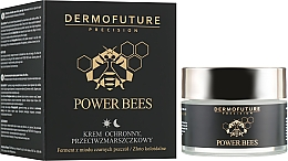 Profumi e cosmetici Crema viso antirughe - Dermofuture Power Bees Protective Anti-wrinkle Cream