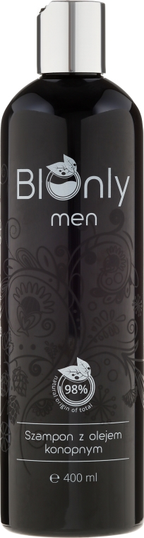 Shampoo capelli con olio di canapa - BIOnly Men Shampoo