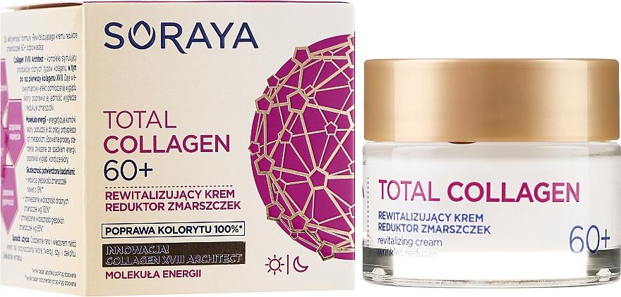 Crema rigenerante antirughe, da giorno e notte 60+ - Soraya Total Collagen 60+