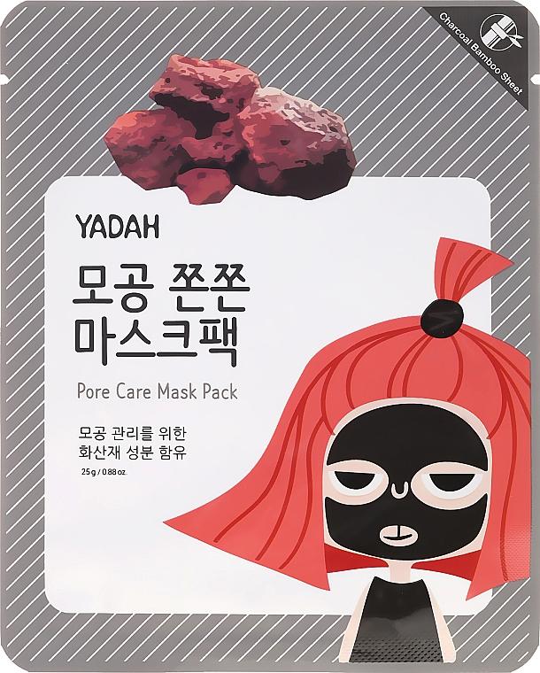 Maschera viso in tessuto per pori dilatati - Yadah Pore Care Mask Pack