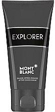 Profumi e cosmetici Balsamo dopobarba - Montblanc Explorer