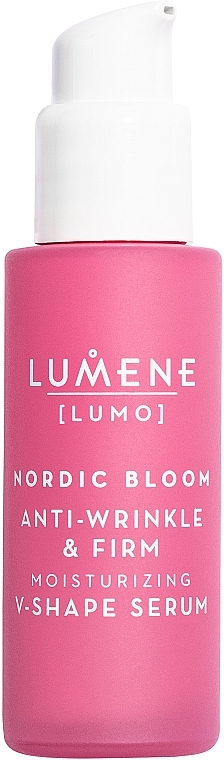 Siero viso rassodante e rinforzante - Lumene Lumo Nordic Bloom Anti-wrinkle & Firm Moisturizing V-Shape Serum