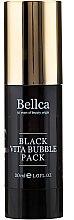 Profumi e cosmetici Maschera-gel viso a bolle - Bellca Black Vita Bubble Pack