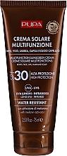 Profumi e cosmetici Crema solare corpo idratante SPF 30 - Pupa Multifunction Sunscreen Cream