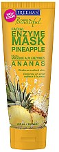 "Profumi e cosmetici Maschera viso enzimatica ""Ananas"" - Freeman Feeling Beautiful Pineapple Enzyme Mask"