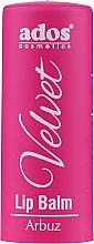 Profumi e cosmetici Balsamo labbra - Ados Cosmetics Velvet Lip Balm