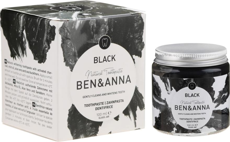 Dentifricio naturale - Ben & Anna Natural Black Toothpaste
