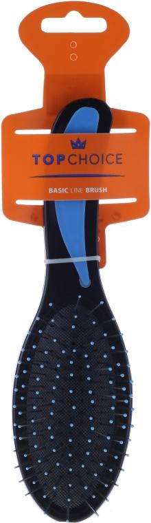 Spazzola per capelli, nero-blu 2731 - Top Choice — foto N1