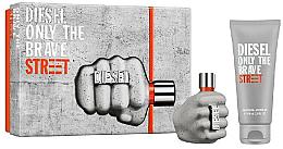 Profumi e cosmetici Diesel Only The Brave Street - Set (Edt/35ml + Sh/gel/50ml)